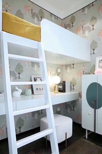 15-20万140平米三室两厅现代简约风格青少年房欣赏图
