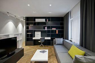 富裕型100平米三北欧风格客厅设计图
