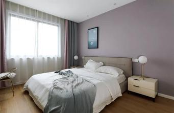 经济型120平米四室一厅北欧风格卧室装修图片大全