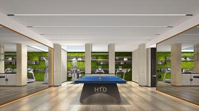 140平米别墅现代简约风格健身房装修案例