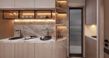 140平米别墅日式风格玄关装修案例