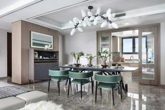 140平米四室一厅轻奢风格餐厅效果图