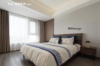 20万以上120平米三室两厅中式风格卧室效果图
