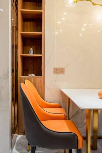 富裕型80平米轻奢风格餐厅装修效果图