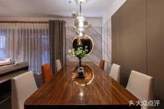 140平米四室两厅轻奢风格餐厅装修效果图