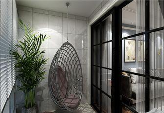 豪华型110平米三室两厅美式风格玄关效果图