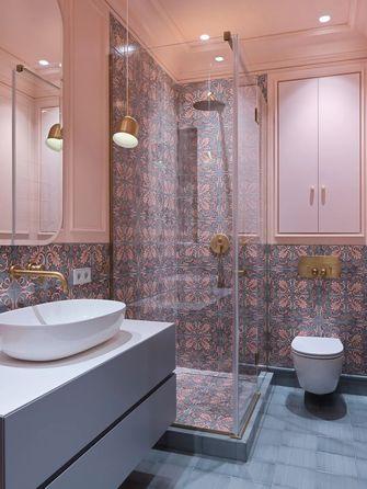 10-15万110平米三室一厅法式风格卫生间欣赏图
