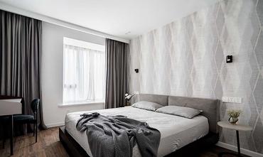 10-15万三室两厅北欧风格卧室设计图