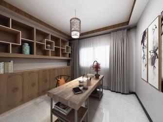 140平米四中式风格书房装修案例