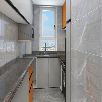 经济型50平米公寓现代简约风格厨房装修效果图
