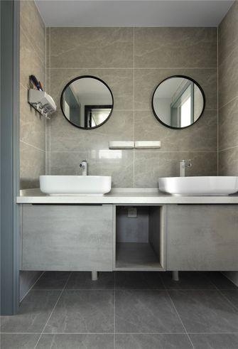 富裕型90平米混搭风格卫生间装修案例