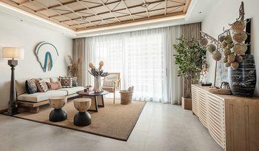 15-20万100平米三室一厅东南亚风格客厅效果图