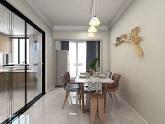 3-5万120平米三室两厅北欧风格餐厅设计图