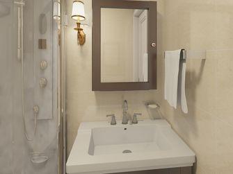 富裕型60平米欧式风格卫生间设计图