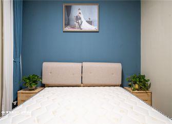 富裕型三室一厅北欧风格卧室图片大全