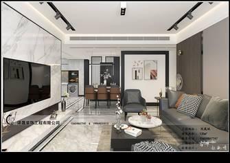 130平米三室三厅现代简约风格走廊效果图