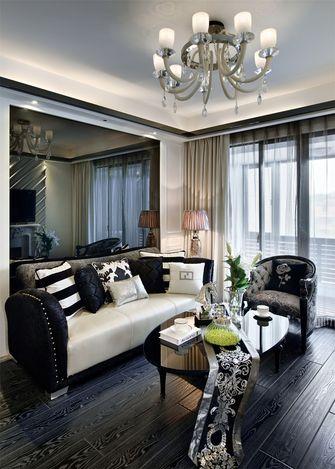 富裕型70平米公寓欧式风格客厅欣赏图