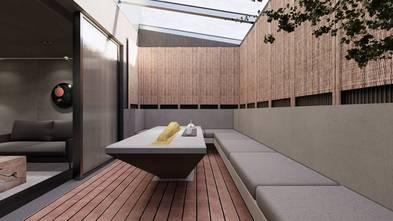 80平米现代简约风格阳台欣赏图