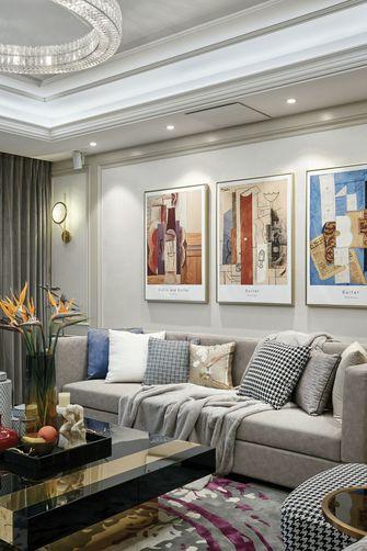 经济型120平米三室两厅欧式风格客厅装修图片大全