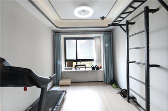 豪华型140平米四室两厅轻奢风格健身房装修图片大全