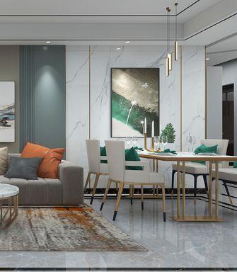 富裕型120平米三室三厅轻奢风格餐厅图片