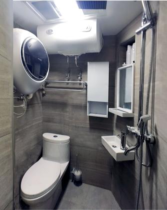 30平米以下超小户型日式风格卫生间图片