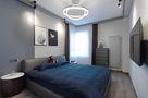 60平米公寓英伦风格卧室图