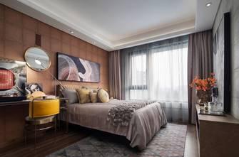 富裕型120平米复式混搭风格卧室装修图片大全