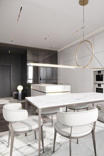 90平米一居室轻奢风格餐厅装修效果图