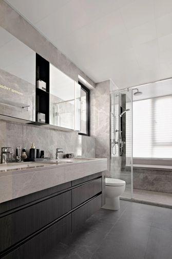 富裕型80平米三室三厅轻奢风格卫生间效果图