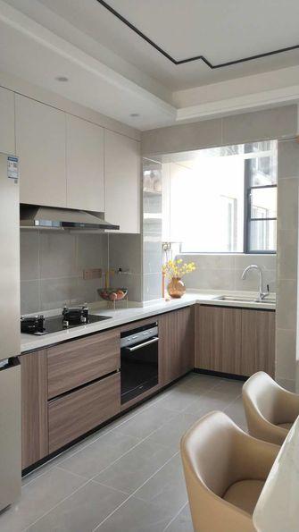 110平米三室两厅中式风格厨房图