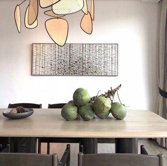 经济型140平米三现代简约风格餐厅装修案例