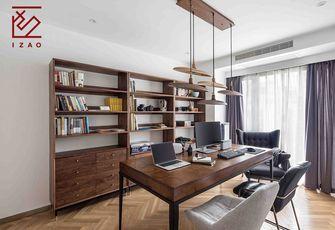 10-15万110平米三室两厅北欧风格书房装修案例