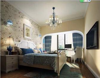 经济型90平米三室一厅地中海风格卧室装修效果图