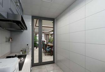 富裕型120平米四美式风格厨房效果图