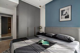 富裕型70平米三室两厅日式风格卧室图
