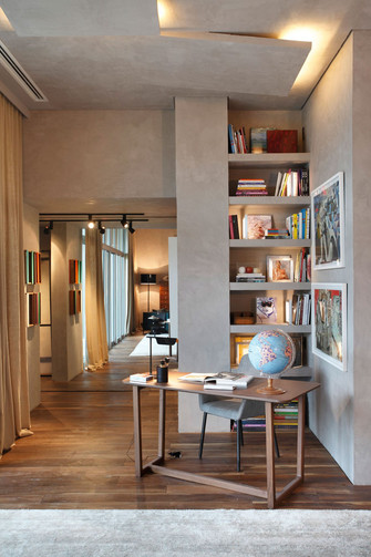140平米复式工业风风格客厅设计图