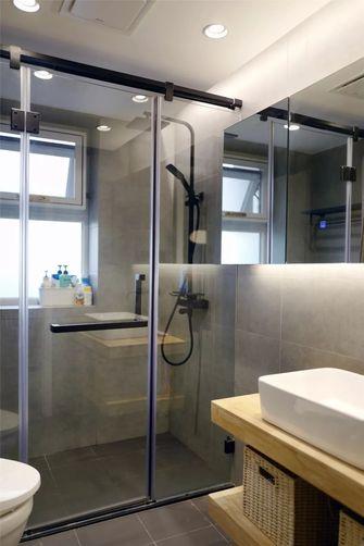 5-10万80平米一室一厅北欧风格卫生间图片
