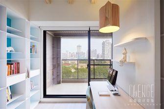 经济型60平米日式风格书房设计图