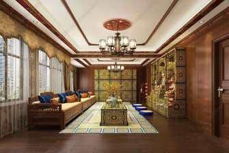 130平米三室两厅混搭风格玄关装修图片大全