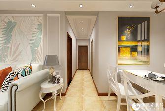 5-10万110平米三室两厅美式风格走廊装修效果图