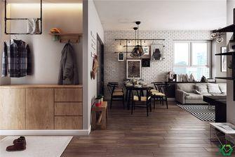 富裕型100平米三室一厅法式风格客厅图片大全