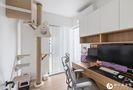 10-15万120平米三室两厅日式风格书房装修案例