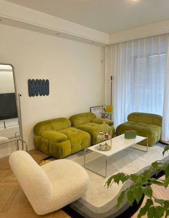5-10万90平米三室两厅北欧风格客厅装修效果图