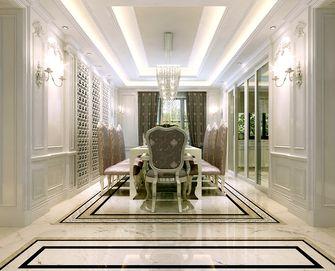 豪华型140平米复式欧式风格餐厅装修案例