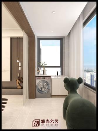经济型140平米三室两厅现代简约风格阳台图片大全
