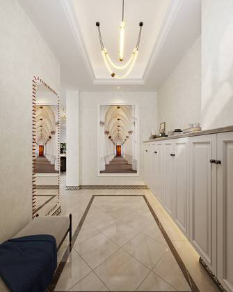 20万以上140平米别墅美式风格玄关装修效果图