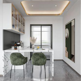 富裕型100平米三室两厅美式风格餐厅图片