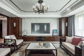 140平米四室三厅中式风格客厅效果图
