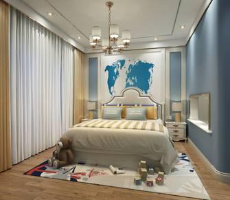 豪华型140平米四室一厅中式风格青少年房欣赏图